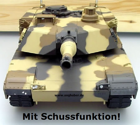 ferngesteuerter rc m1a1 abrams a5 kampfpanzer 1 24 tank. Black Bedroom Furniture Sets. Home Design Ideas