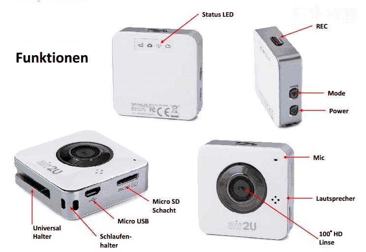 hammer app cam funk kamera wifi direct ip hd kamera f r. Black Bedroom Furniture Sets. Home Design Ideas