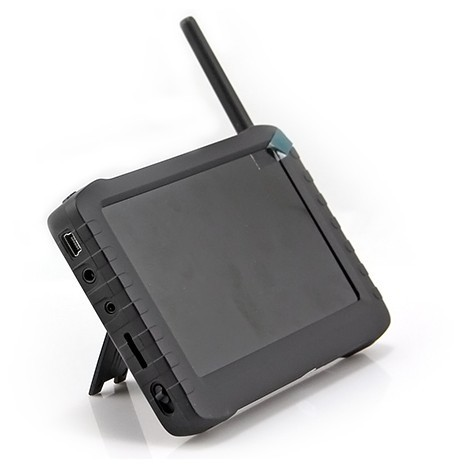 fpv komplettpaket 5 zoll berry monitor mit 5 8ghz t rspion funk kamera ebay. Black Bedroom Furniture Sets. Home Design Ideas