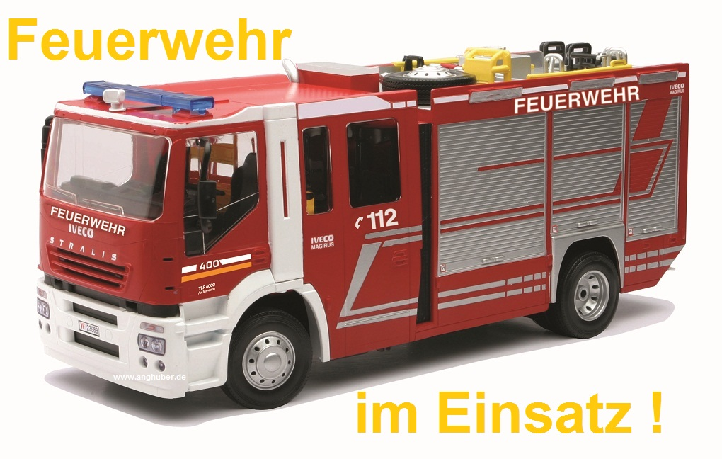 bundle rc feuerwehr iveco stralis helikopter. Black Bedroom Furniture Sets. Home Design Ideas